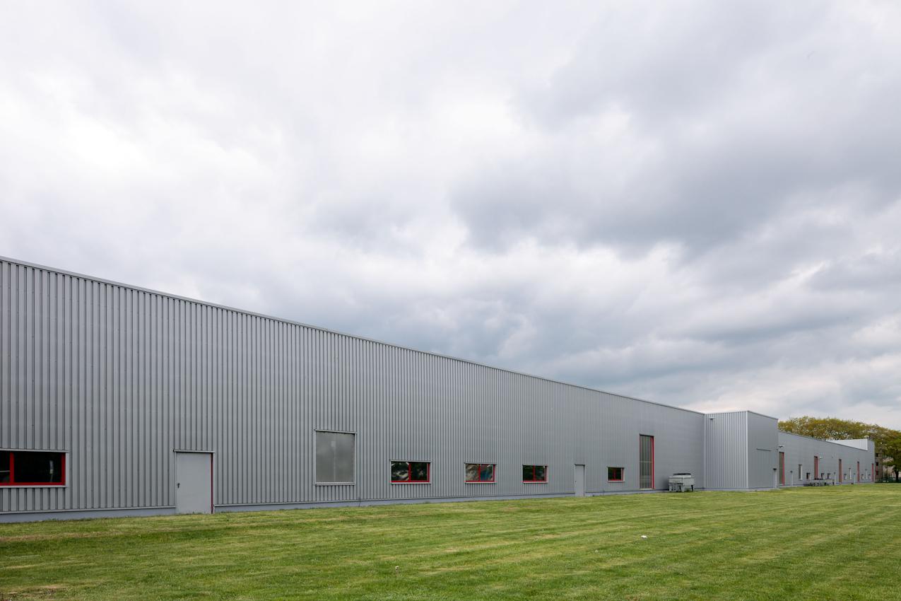 Produktionshallen der Wurzener Dauerbackwaren GmbH von Griesson - De Beukelaer.
