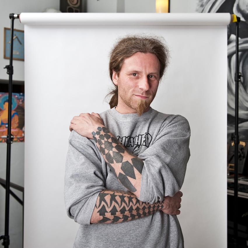 """Markus (37), Tätowierer im AllStyle Tattoo-Studio: """"Das Schöne am Tätowieren ist für mich die Mischung aus Kunst, Dienstleistung und Handwerk."""""""