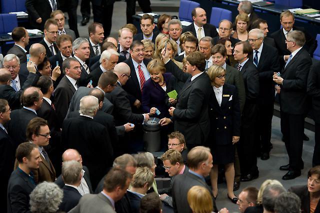Merkel, Bundestag
